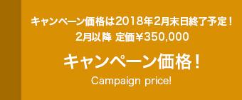 キャンペーン価格!